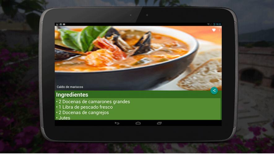 Descarga la aplicación de El Caldo, en donde puedes encontrar más de 50 recetas de comida típica guatemalteca. (Foto: El Caldo)