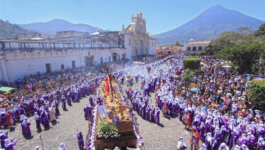 Las tradiciones de Antigua Guatemala durante Semana Santa quedaron capturadas en video. (Foto: Cesar Tian)
