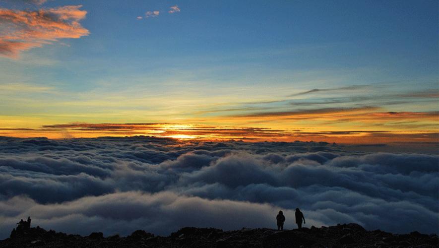 Fotografía de Cindy Lorenzo tomada desde las alturas del volcán Tajumulco. (Foto: Cindy Lorenzo)