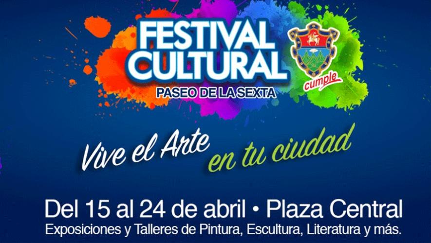 Del 15 al 24 de abril puedes disfrutar de exposiciones, talleres y conciertos gratis en la Plaza Central. (Foto: Municipalidad de Guatemala)