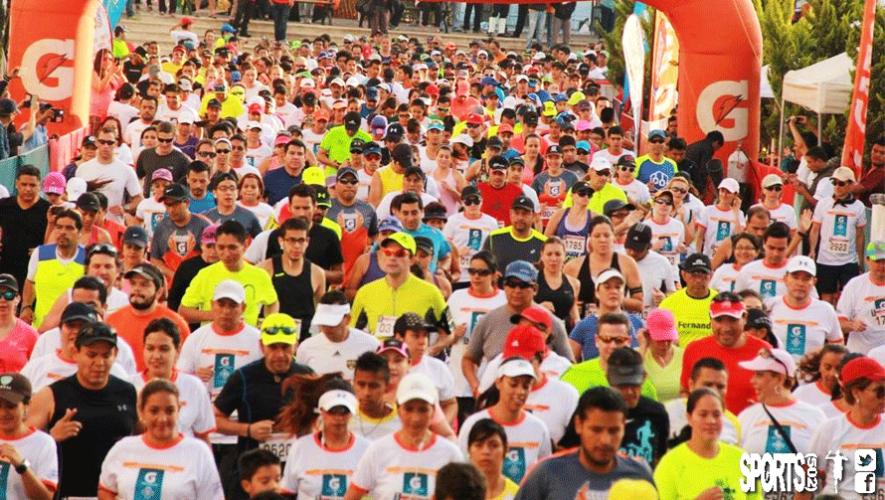 Centenares de guatemaltecos se unirán para correr en carrera Ciudad Cayalá Gatorade 2016. (Foto: Sports 502)