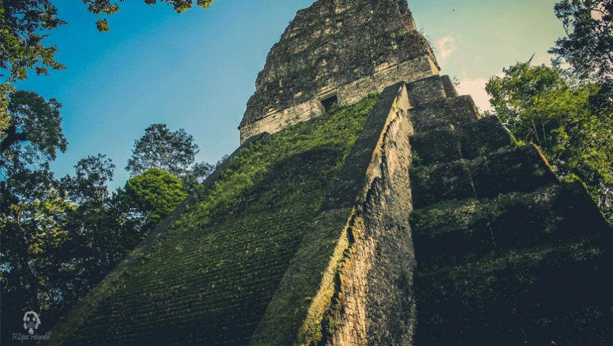 El sitio arqueológico Tikal  también es de las mejores experiencias de Centroamérica. (Foto: Haniel López)