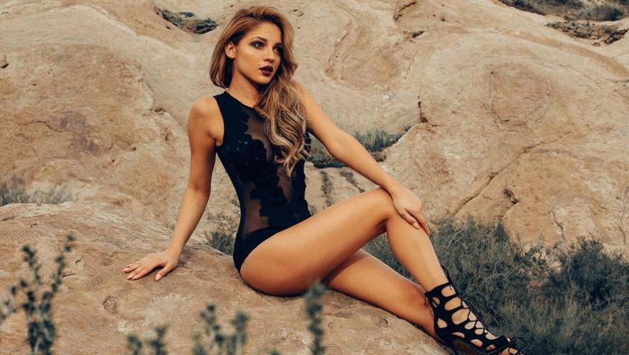 """Josephine Ochoa participa en el programa televisivo de Univisión """"Nuestra Belleza Latina"""". (Foto: Jossie Ochoa)"""