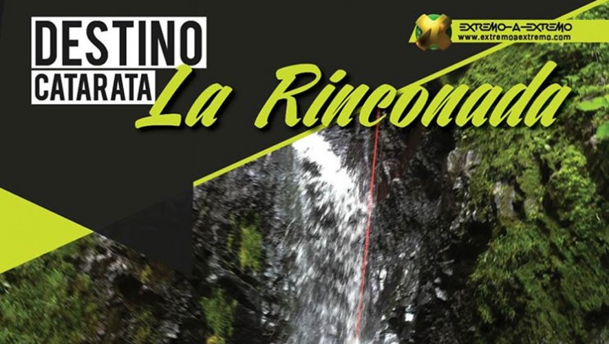 Rapel en Catarata La Rinconada   Abril 2016