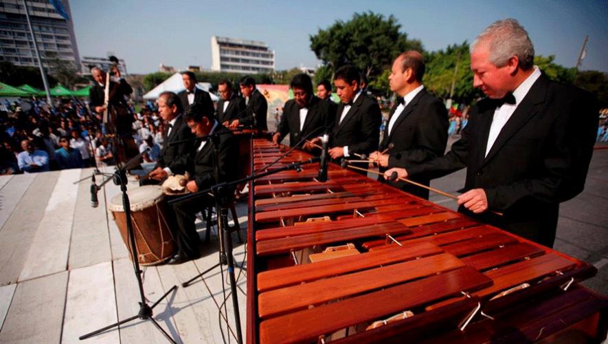 Guatemaltecos Se Unen Para Promover La Marimba Nacional En