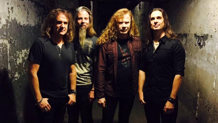El vocalista y guitarrista de Megadeth confirmó que estarían visitando Guatemala con su tour  Dystopia World Tour. (Foto: Megadeth)