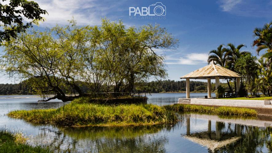 Explora la Laguna del Pino en Santa Rosa, un lugar ideal para descansar muy cerca de la ciudad. (Foto: Pablo Mazariegos)