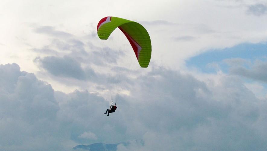Vuelo en parapente en el Lago de Atitlán| Mayo 2016