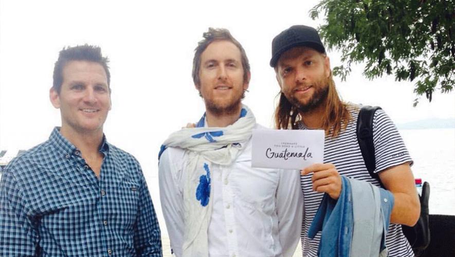 Los integrantes de Maroon 5 y Guster continúan dando su apoyo a Guatemala. (Foto: Perhaps you need a little Guatemala)