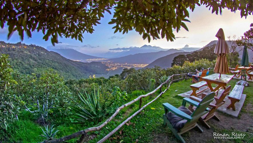 Este hotel en Guatemala ofrece una increíble vista a los tres volcanes y la ciudad de Antigua Guatemala. (Foto: Renan Reyes Photography)