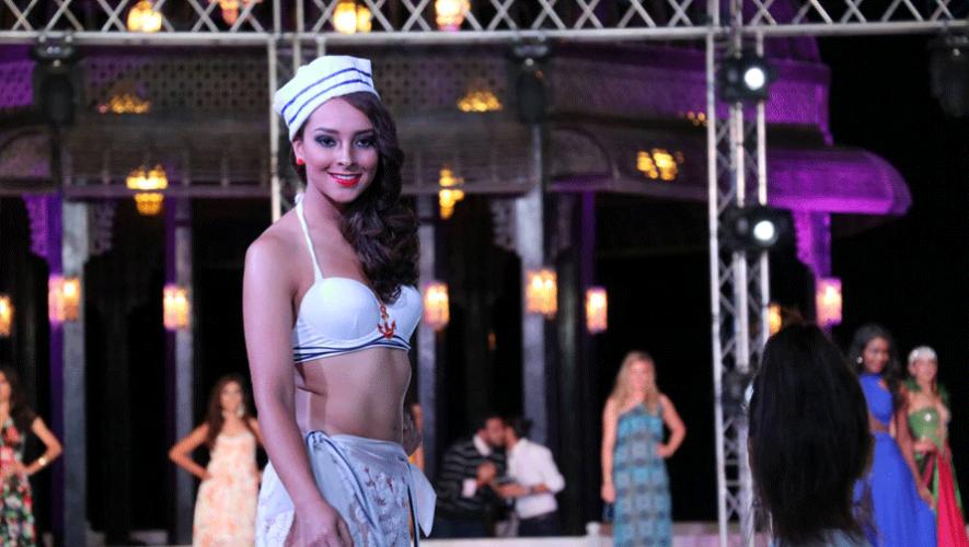 La representante de Guatemala en el certamen de Resort Wear Prime. (Foto: Miss Eco Universe)