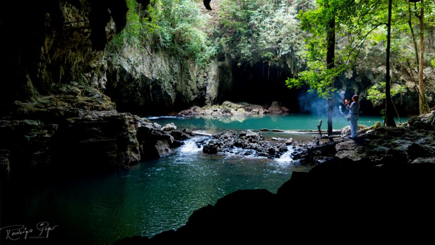 De 25 cuevas, únicamente 5 han sido exploradas. (Foto: Rodrigo Pop)