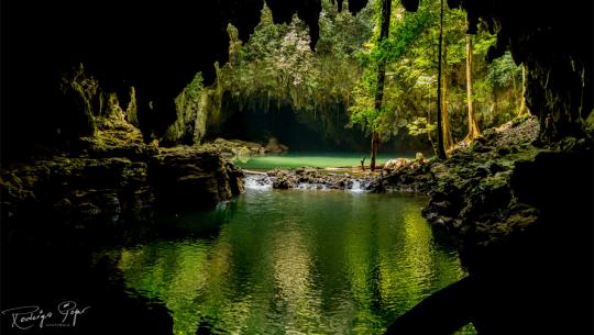 Conoce las misteriosas cuevas de Se'tzol en Alta Verapaz. (Foto: Rodrigo Pop)