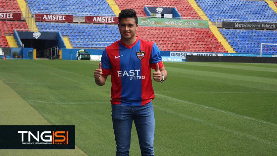 El mediocampista Daniel Guay firmó contrato con el equipo español Levante U.D. (Foto: The Next Generation Sports)