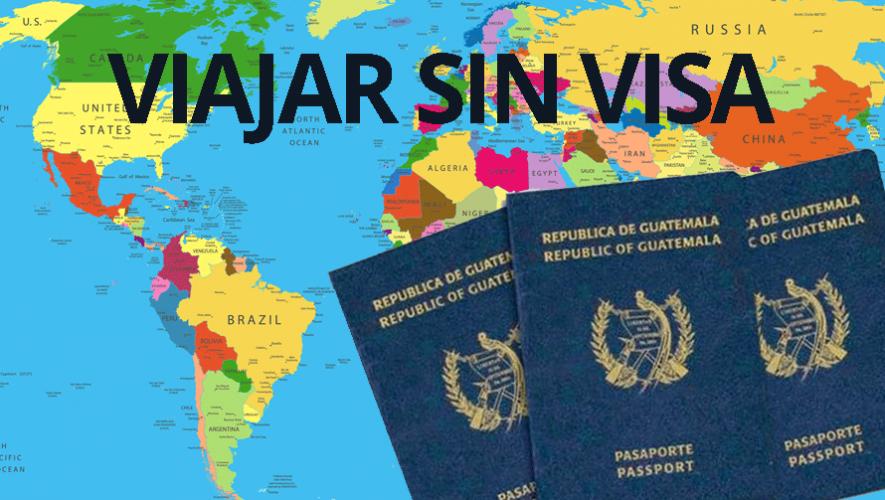 Conoce los lugares a los que puedes viajar únicamente con tu pasaporte guatemalteco. (Foto: Chapinsito)
