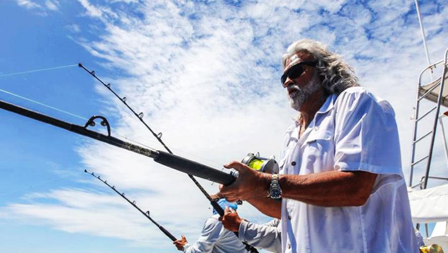 Wild Bill y otras celebridades se presentaron para el primer Torneo Anual de Pesca de Marlines. (Foto: Capt Wild Bill)