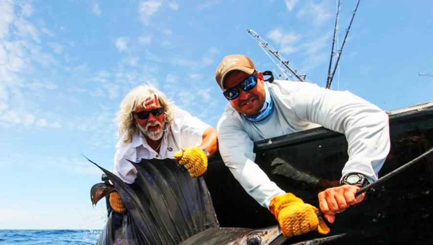 El Capitán Wild Bill de Pesca Mortal estuvo en Guatemala. (Foto: Pacific Fins)