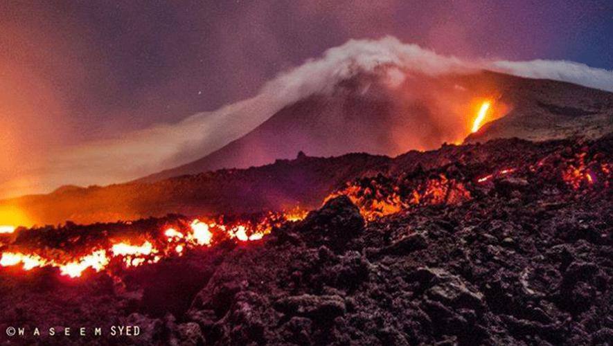 El  Volcán de Pacaya es el escenario del nuevo anuncio de Burger King. (Foto: Waseem Syed Fine Art Photography)