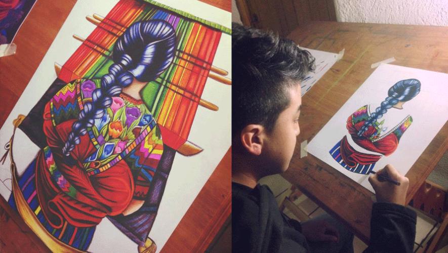 El talento de Alejandro Requena queda plasmado en su obra. (Foto: Alejandro Requena Art)