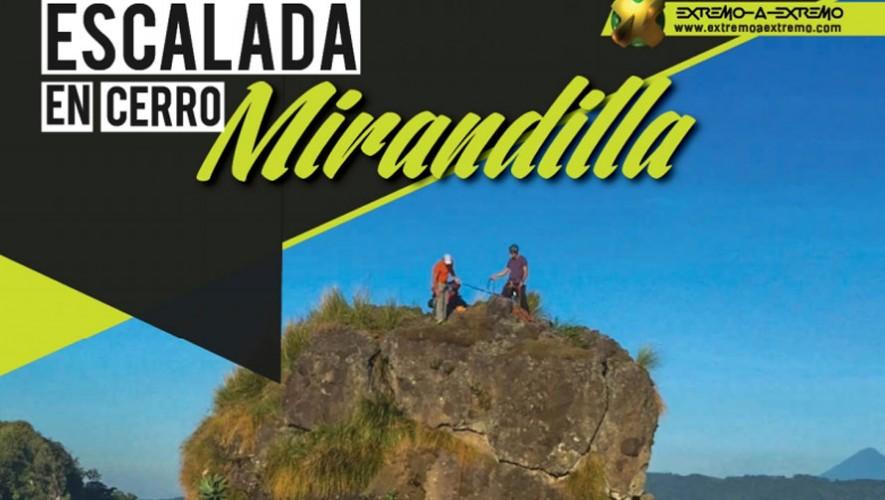 Escalada y Rapel en Cerro Mirandilla | Abril 2016