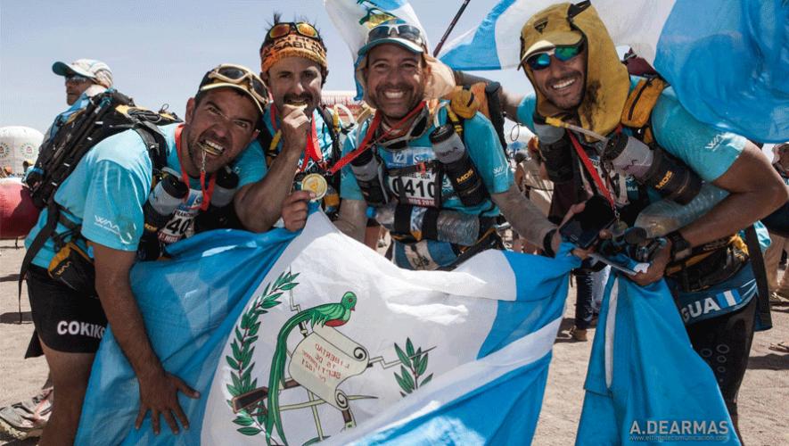 Gabriel Biguria, Fausto Chicas, Rodolfo Castillo y Juan Francisco Abril participaron en la Ultra Maratón del desierto del Sahara. (Foto: Alberto De Armas)