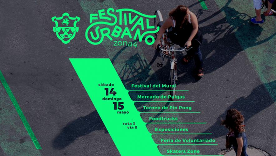 Festival Urbano en Zona 4   Mayo 2016