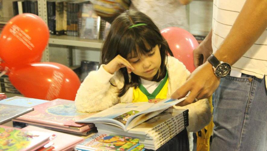 Únete a la aventura de la lectura y asiste a la primera Ludo Feria del libro Infantil y Juvenil en Guatemala. (Foto: Filgua)