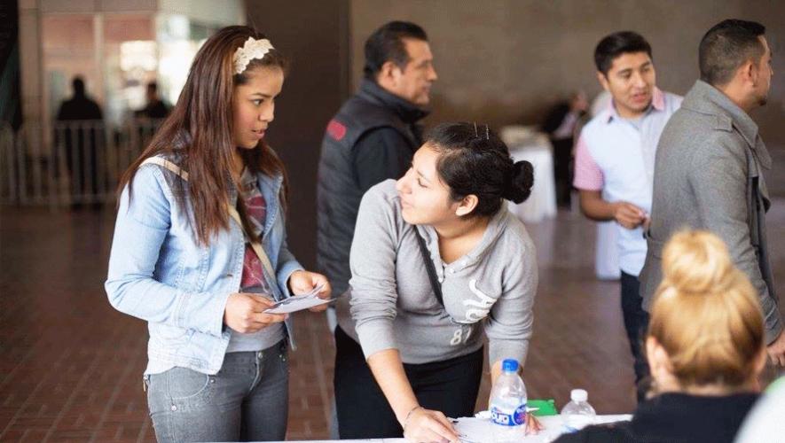 Se prepara en Guatemala la Primera Feria de Becas y Empleo Joven. (Fotografía con fines ilustrativos/Adrián de la Garza)