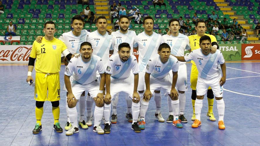La Selección Nacional de Futsal clasificó por tercera vez consecutiva a la Copa Mundial de Fútbol Sala. (Foto: Mexsport)