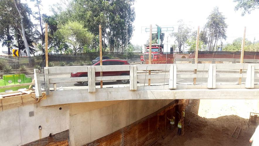 El nuevo paso a desnivel se realizará en la intersección del Bulevar Austriaco y Bulevar Landívar, Zona 16. (Foto: Municipalidad de Guatemala)