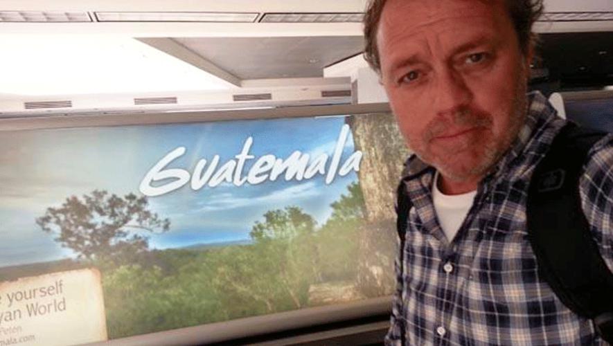 Paco Nadal a su llegada a Guatemala en 2014. (Foto: Paco Nadal)