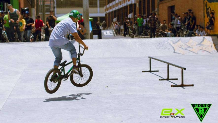 Inauguraron en la Ciudad de Guatemala un skatepark. (Foto: Roman Castro)