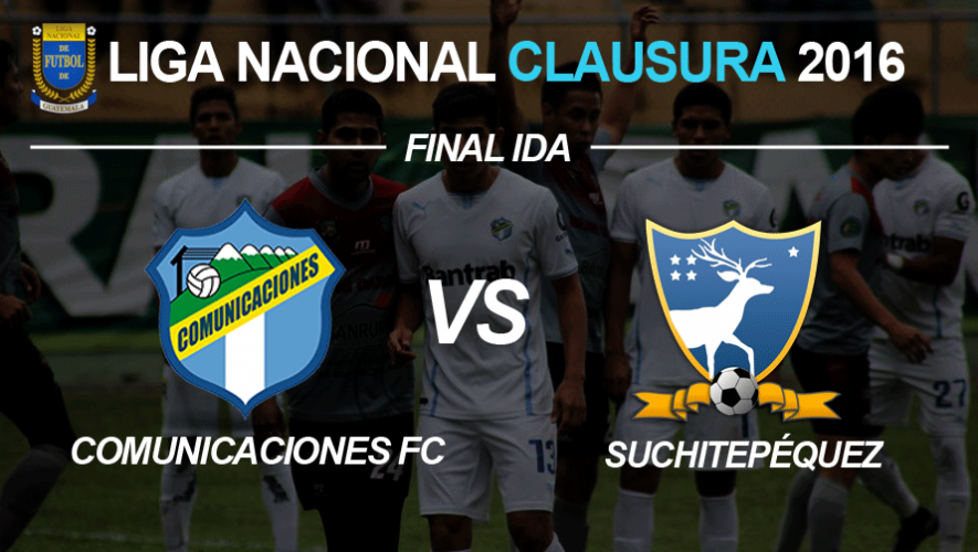 Partido de ida Comunicaciones vs. Suchitepéquez final Torneo Clausura   Mayo 2016