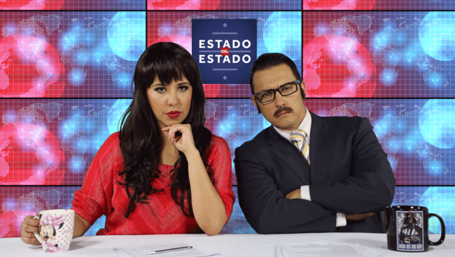 Estado del Estado es un noticiero digital de sátira que muestra el buen humor de los guatemaltecos. (Foto: Cortesía César León)