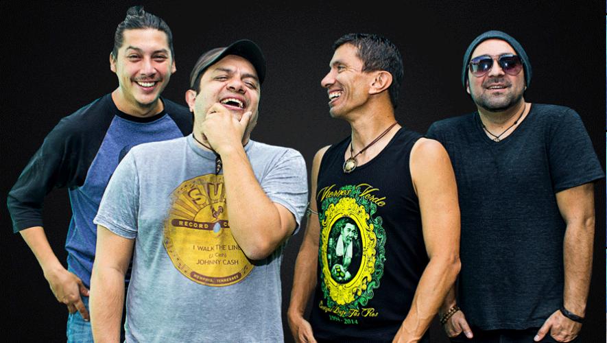 La agrupación guatemalteca Viernes Verde cumple 23 años de carrera musical en mayo. (Foto: Cortesía Viernes Verde)