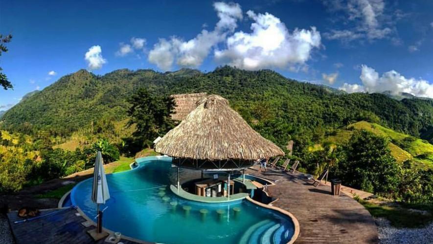 Zephyr Lodge ofrece impresionantes vistas desde su piscina infinita. (Foto: @tdrmorrison)