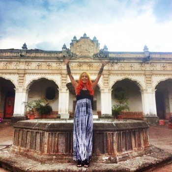 Megan Massacre en el Convento de Capuchinas, Antigua Guatemala. (Foto: Megan Massacre)