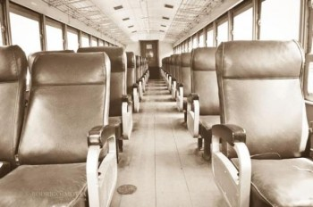 Interior de la primera clase Ferrocarril de los Altos (Foto: Rodrigo Motta)