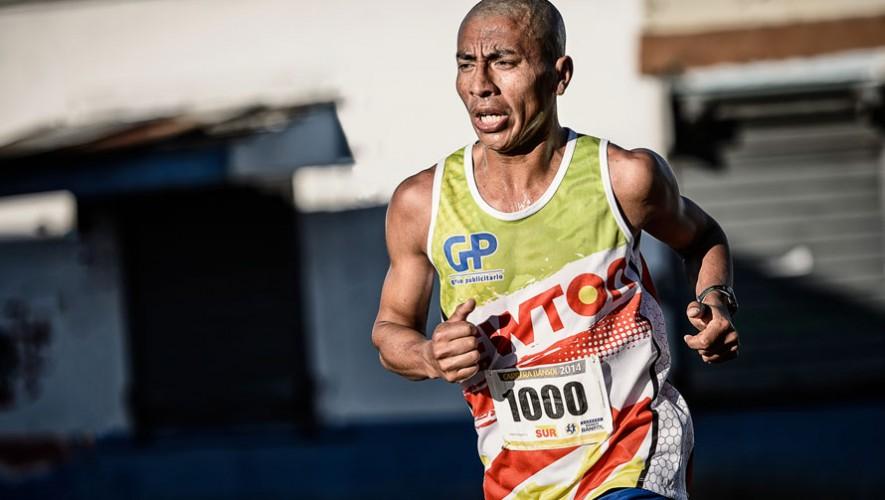 Amado García, atleta guatemalteco