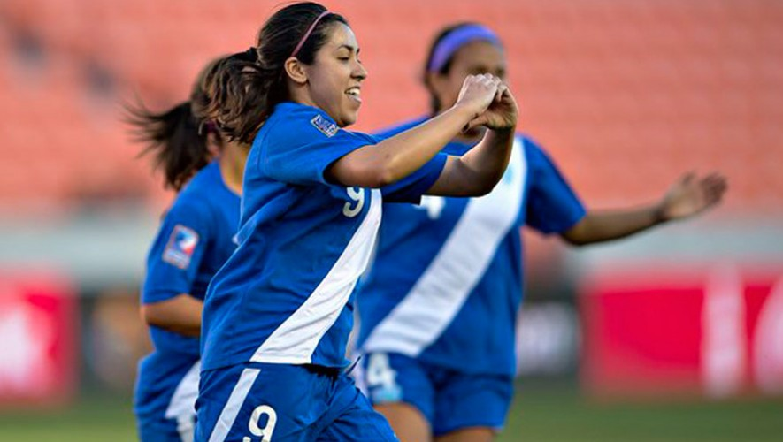 Ana Lucía Martínez, futbolista guatemalteca