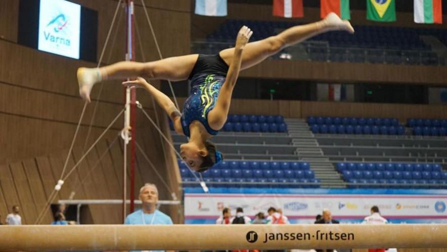 Ana Sofía Gómez, gimnasta guatemalteca