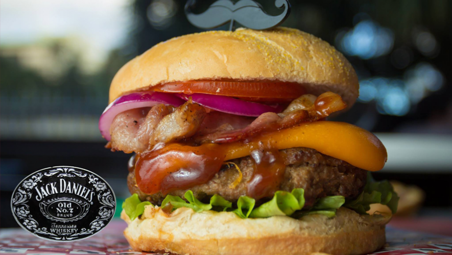 Hamburguesa Black Jack. (Foto: Burger Stop)