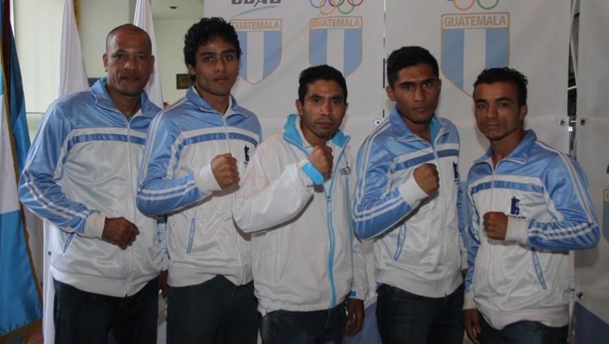 Boxeadores guatemaltecos