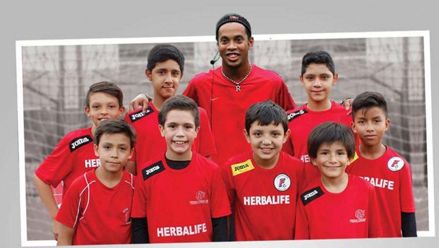 Convivencia con Ronaldinho en Futeca | Julio 2016