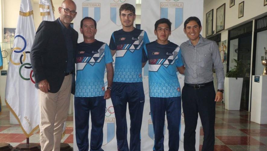Serech y Bos, ciclistas guatemaltecos