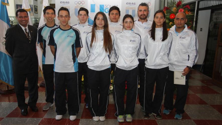 Delegación de Taekwondo de Guatemala