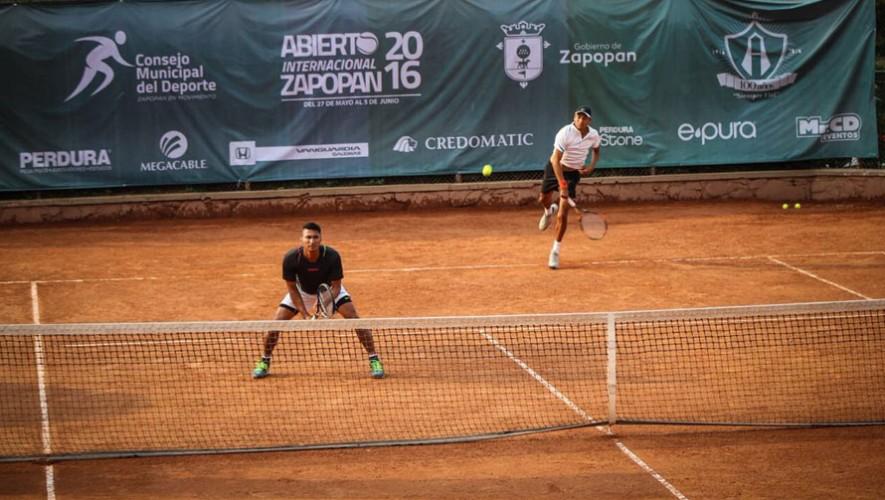 Díaz y González, tenistas guatemaltecos