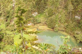 Así luce la Laguna Magdalena. (Fotografía tomada el 12 de junio de 2016 por Elder Calel)