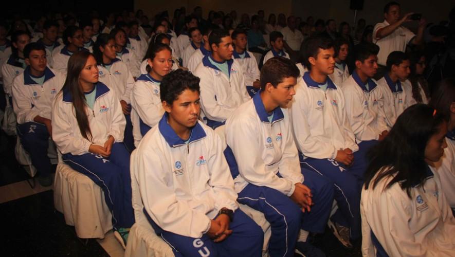 Equipo de natación de Guatemala