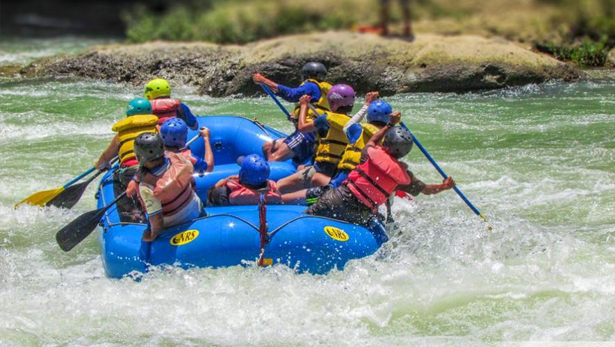 El rafting es una actividad de aventura acuática extrema. (Foto: Expedición Maya)